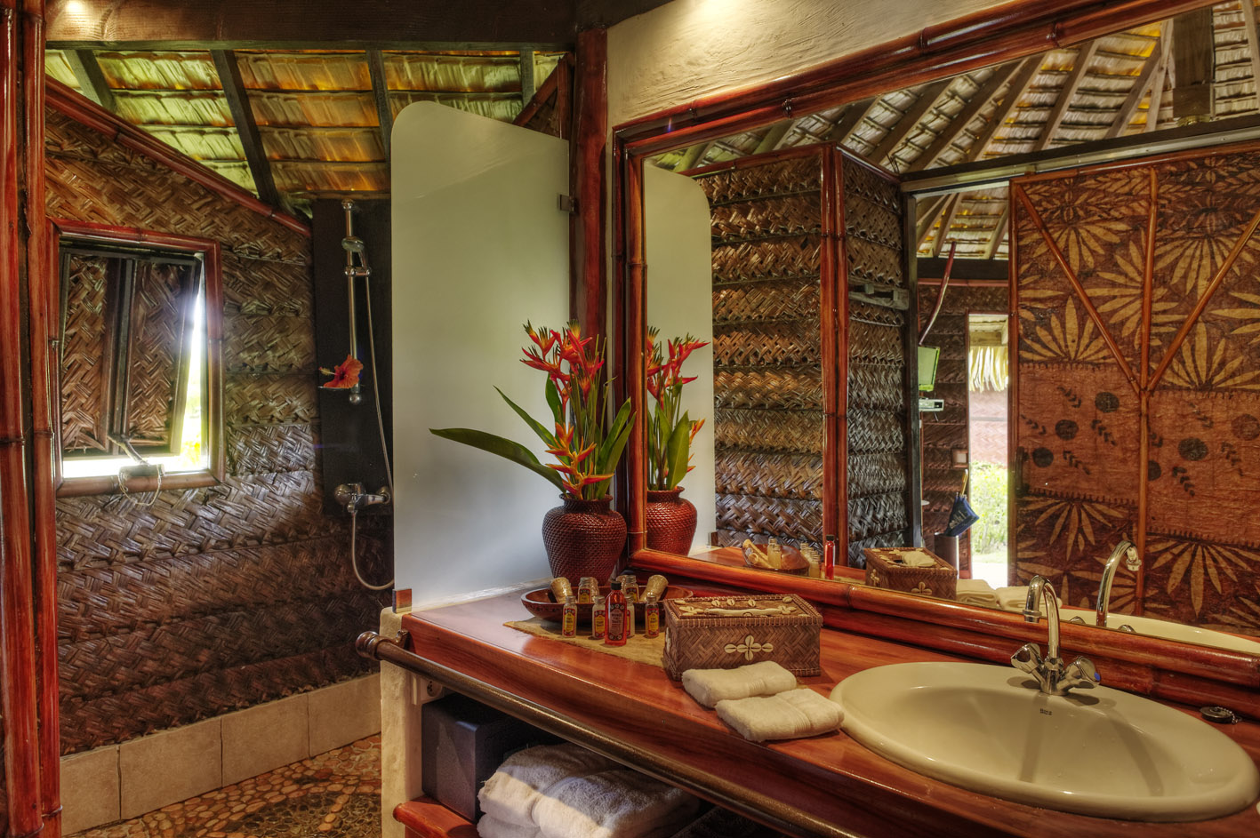 Salle De Bain Bungalow ~ sejour hotel polynesie h bergement fare pea iti